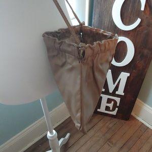 Bags - Convertible beige purse/clutch